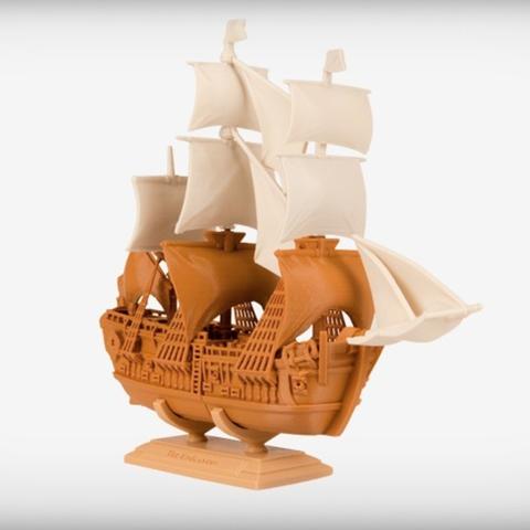 Download free STL file The Endeavor • 3D printer model, JackieMake