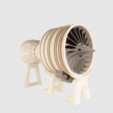 Download free STL file Jet Engine • 3D printer model, JackieMake
