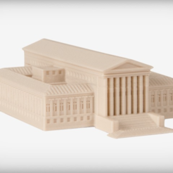 Free 3D printer file Supreme Court Building, JackieMake