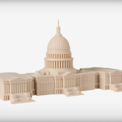 Download free STL file The Capitol - Legislative • 3D printer template, JackieMake