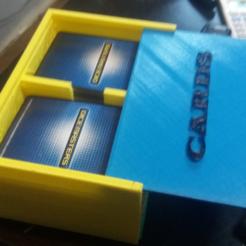 objet 3d gratuit Double côtés Dice / Card Box, jbrum360