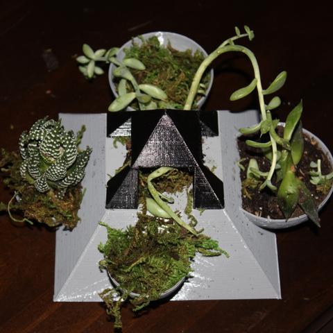 Download free STL file Pyramid Succulent Planter • 3D printer design, jbrum360