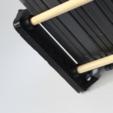 Download free STL file Dowel Rod Shelf Brackets (DVD/VideoGames) • 3D printing design, jbrum360