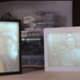 Download free STL Lithophane Frames - Magnetic, jbrum360