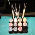 Descargar STL gratis Pintura de la ciudadela / cepillo / sostenedor de la herramienta, jbrum360
