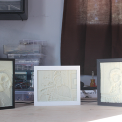 Download free STL file Lithophane Frames - Magnetic • 3D printer template, jbrum360