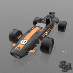 "Download free 3D print files Psl 3d Car ""Monoplace FF"", psl"