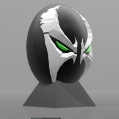 Download free 3D printer templates Spawn Super Hero Egg, psl