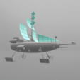 "7.png Download free STL file Jayce ""Herc's ship"" • 3D print model, psl"
