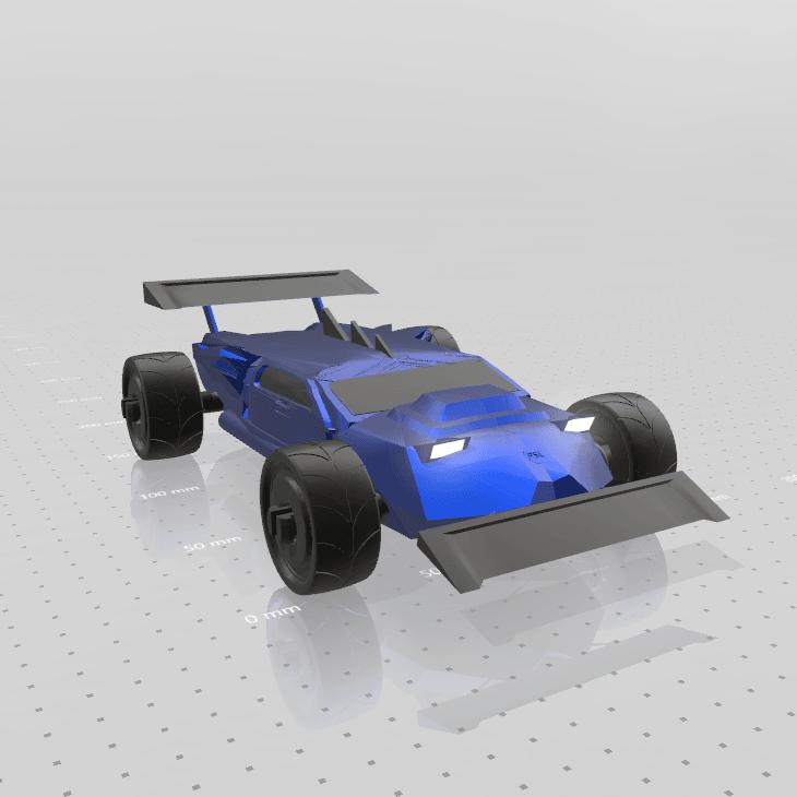8.png Download free STL file Concept car EVO II M • 3D printer template, psl