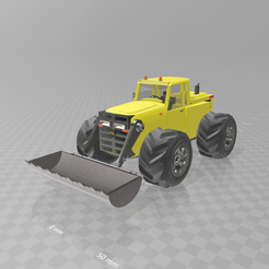 Download free 3D printer files Backhoe loader, psl