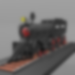 locomotive -N°1- .stl Download free STL file Locomotive No. 1- • 3D print template, psl