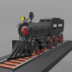 Download free 3D printing models Locomotive No. 1-, psl