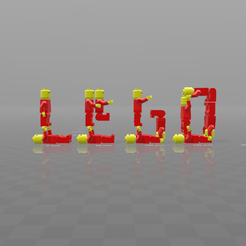 Download free 3D printer designs Lego acrobat, psl