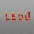 Download free 3D printer designs Lego acrobat, psl