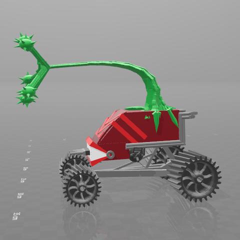 3.png Download free STL file monstroplante gungrinner • Design to 3D print, psl