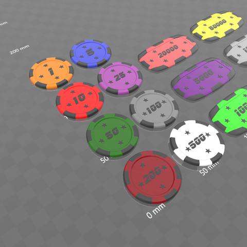 jetons star ens 2.png Download free STL file Star poker chips • Template to 3D print, psl