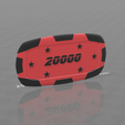 Plaque star 20000.png Download free STL file Star poker chips • Template to 3D print, psl