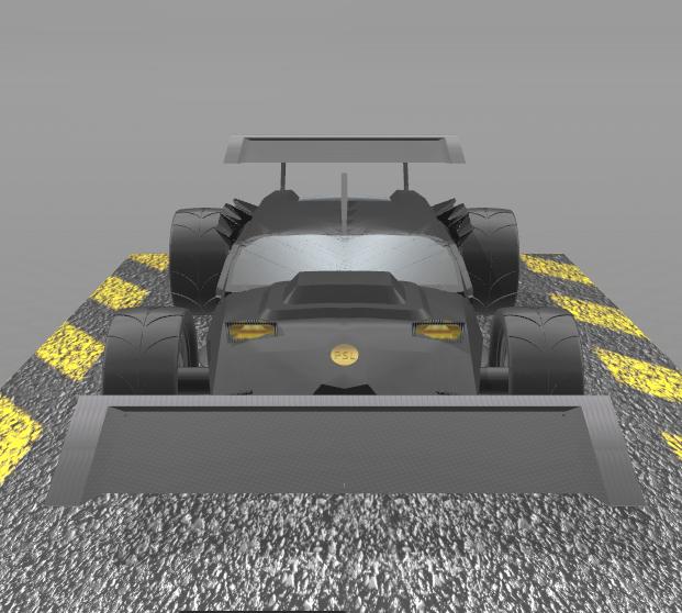 "6.png Download free STL file Concept car 4x4 ""evo II"" • 3D printing model, psl"