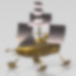"Jayce vaisseau .stl Download free STL file Jayce ""Herc's ship"" • 3D print model, psl"