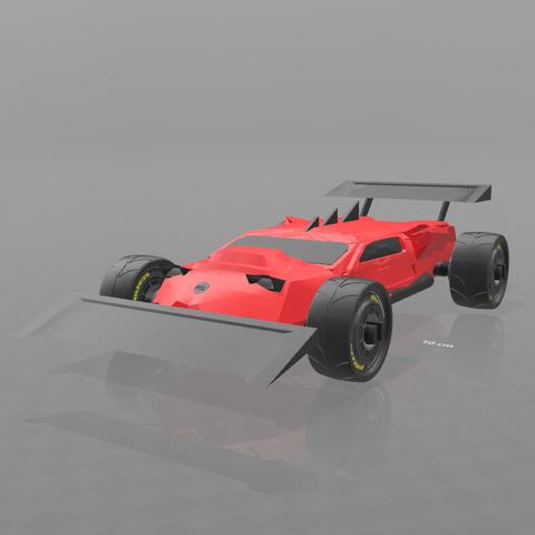 1.png Download free STL file Concept car EVO II M • 3D printer template, psl