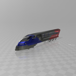 Download free 3D print files Locomotive No. 2, psl