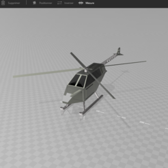 Download free 3D printing models PSL Helicopter, psl