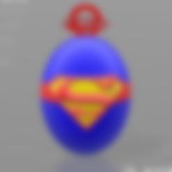 Download free 3D printer model Superman key ring, psl