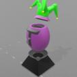 "3.png Download free STL file Piggy bank ""joker egg"" • Template to 3D print, psl"