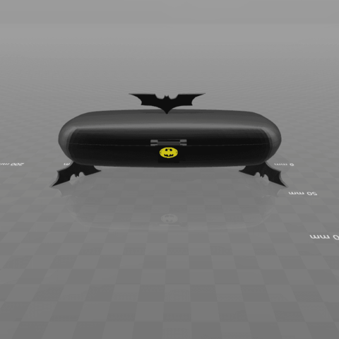9.png Download free STL file Bat-box box • Template to 3D print, psl