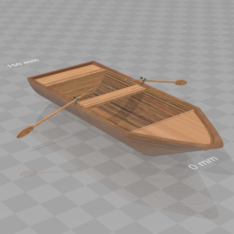 Download free 3D printer designs Small boat, psl
