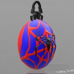 Fichier 3D Porte clé Spiderman, psl