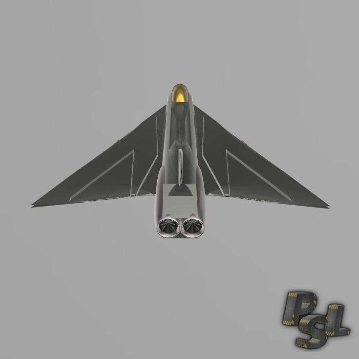 6.jpg Download free STL file Fighter aircraft 11 • Object to 3D print, psl