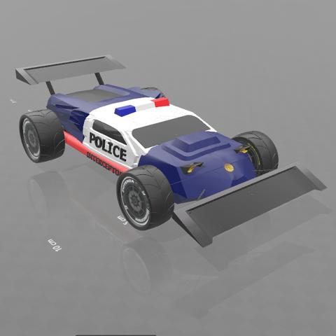 "6.png Download free STL file concept car ""police interceptor"" • 3D printing object, psl"