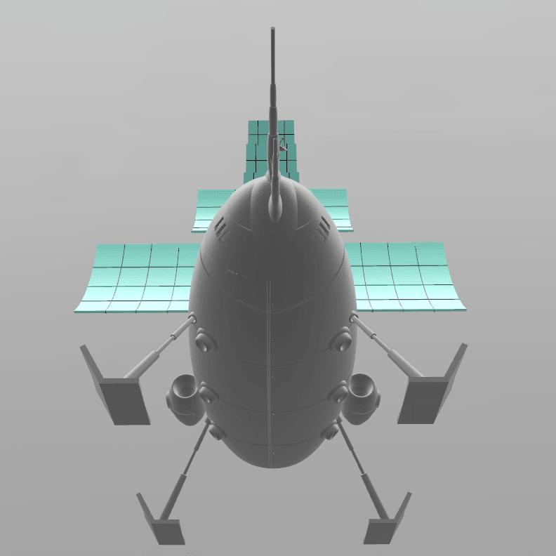 "1.png Download free STL file Jayce ""Herc's ship"" • 3D print model, psl"