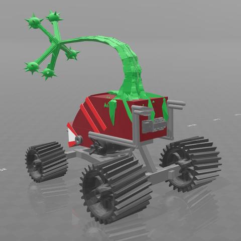 4.png Download free STL file monstroplante gungrinner • Design to 3D print, psl