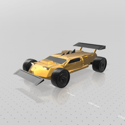9.png Download free STL file Concept car EVO II M • 3D printer template, psl