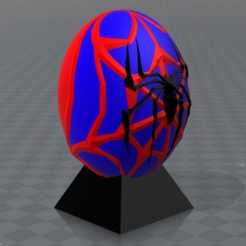 Free 3D print files Spiderman superhero eggs, psl
