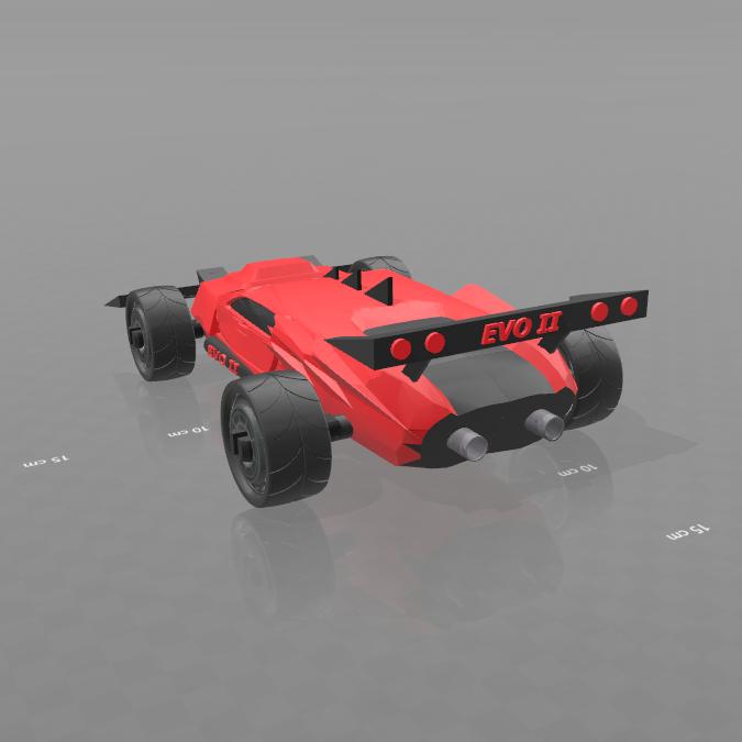 3.png Download free STL file Concept car EVO II M • 3D printer template, psl
