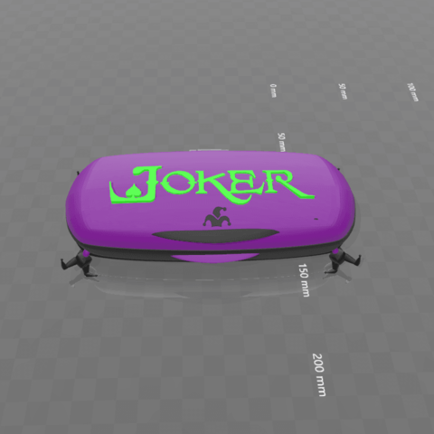"5.png Download free STL file ""Joker-box."" • 3D print object, psl"
