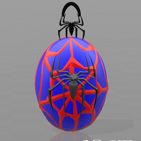 Download free 3D print files Spiderman key ring, psl