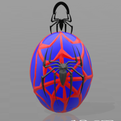 Free 3D printer files Spiderman key ring, psl