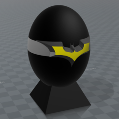 "Free 3D model Batman"" superhero eggs, psl"
