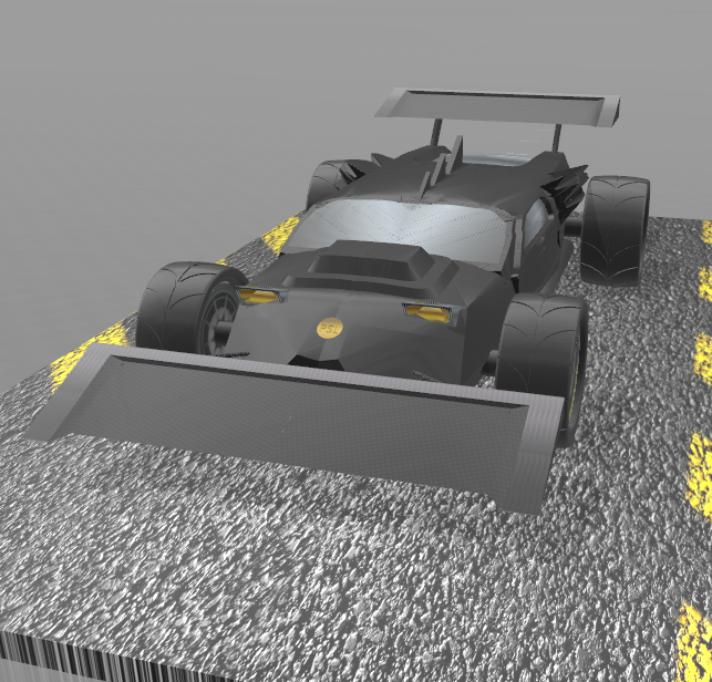 "2.png Download free STL file Concept car 4x4 ""evo II"" • 3D printing model, psl"