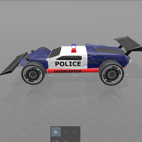 "3.png Download free STL file concept car ""police interceptor"" • 3D printing object, psl"