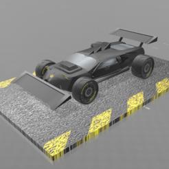 """Modèle 3D gratuit Concept car 4x4 """"evo II"""", psl"""