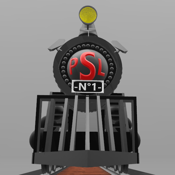 8.png Download free STL file Locomotive No. 1- • 3D print template, psl