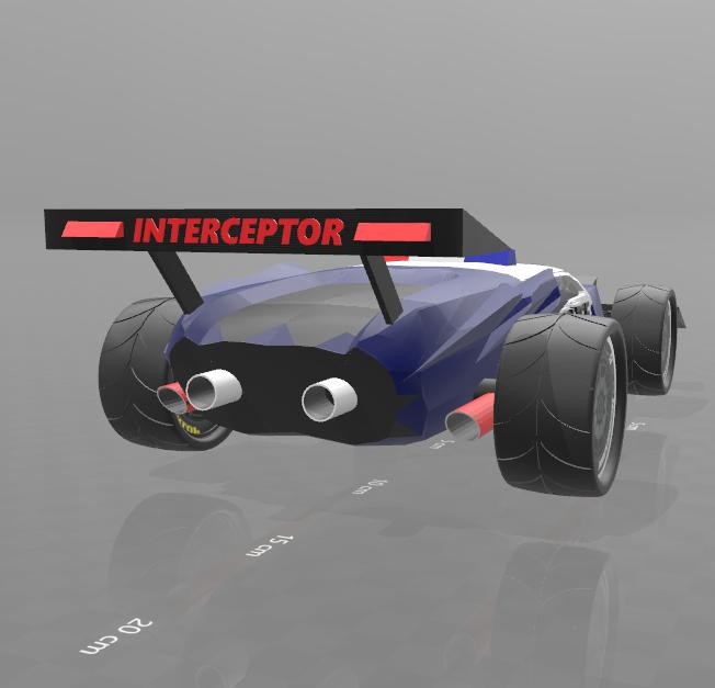 "4.png Download free STL file concept car ""police interceptor"" • 3D printing object, psl"