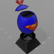 "Download free 3D printer model ""Superman egg"" piggy bank, psl"