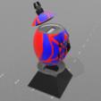 """2.png Télécharger fichier STL gratuit Tirelire """"oeuf spiderman"""" • Design imprimable en 3D, psl"""